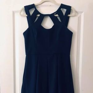 Betsey Johnson size 6 navy dress